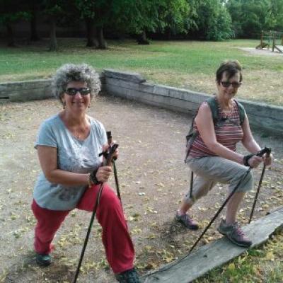Etirement au Parc de Lacroix Laval