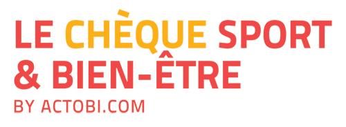 Logo chèque sport et bien-être